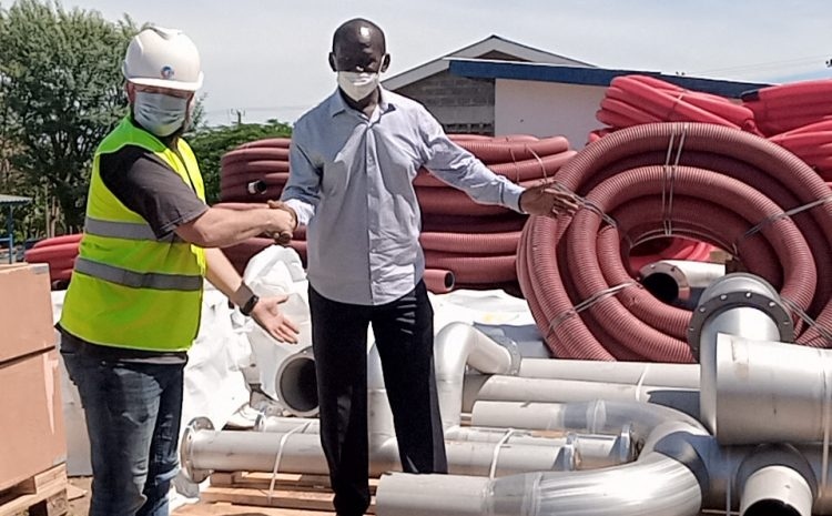 LVSWWDA acquires Kshs.200m equipment for Homa Bay Cluster Water Project