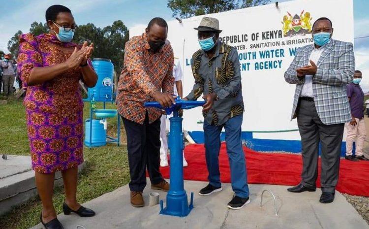 President Uhuru Kenyatta Commissions Siaya Bondo Water Supply & Sanitation Project